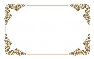 single decorative frame